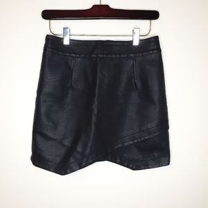 Jack BB Dakota Faux Leather / Pleather Skirt